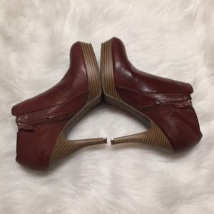 Unlisted Platform Heeled Leather Booties